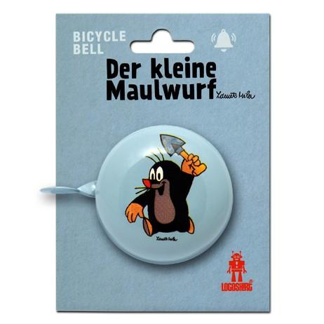 bicycle bell Fahrradklingel Der kleine Maulwurf - Krtek mit Schaufel