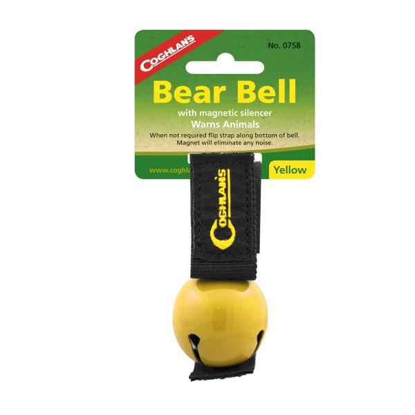 """Coglhans Bären Glocke / Klingel """"Bear Bell"""" gelb"""
