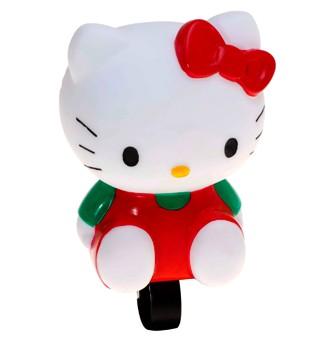 """Lenkerhupe """"Hello Kitty"""", weiß-rot"""