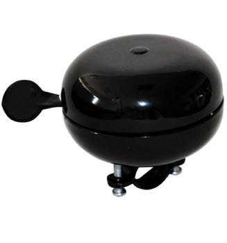 TAQ-33 Ding-Dong Fahrradklingel / Glocke, schwarz