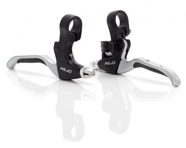 XLC Bremshebelset für V-Brake BL-V06, schwarz/silber