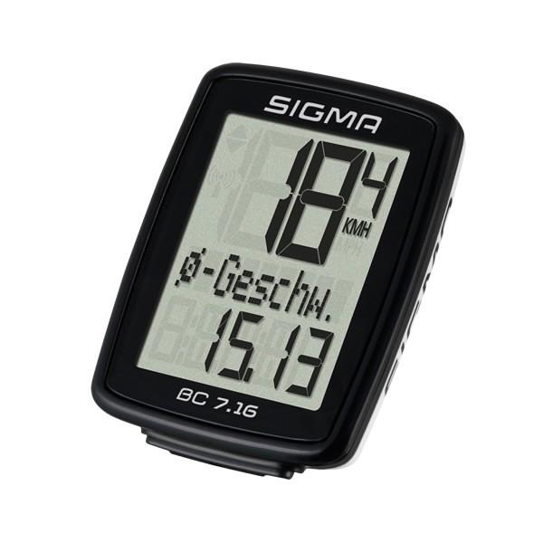 Sigma BC 7.16 Fahrradcomputer kabelgebundenen
