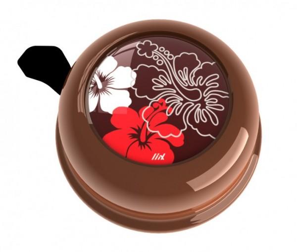 Liix Fahrradklingel Aloha Chocolate, braun