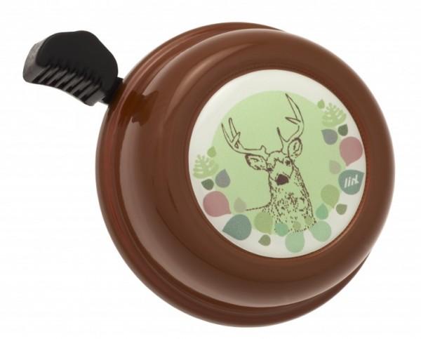 Liix Fahrradklingel Liix Deer Choco