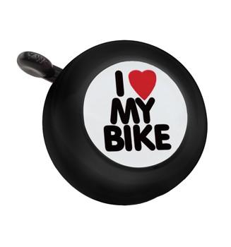 """Electra Fahrradklingel / Glocke """"I love my Bike"""", schwarz"""