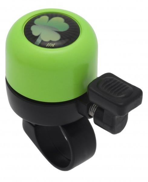 Liix Micro Bell Clover Neon Grün Ping Fahrradklingel