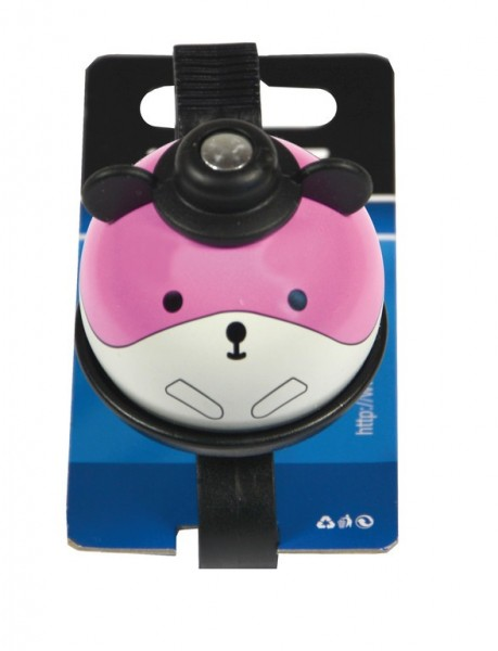 Kinderklingel / Glocke Maus, pink