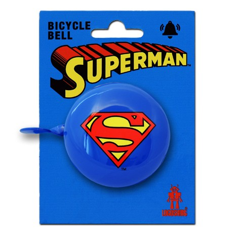 bicycle bell Fahrradklingel Superman - DC Comics - Superman Logo