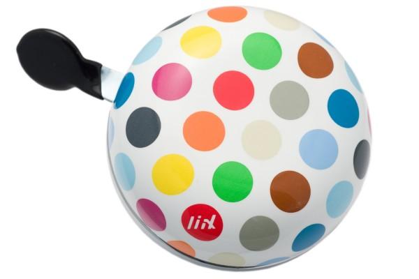 Liix Ding Dong Fahrradklingel Polka Big Dots Mix