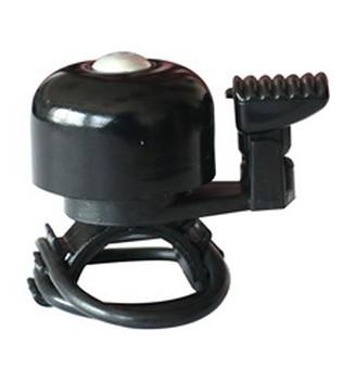 TAQ-33 Mini- Fahrradklingel / Glocke, schwarz
