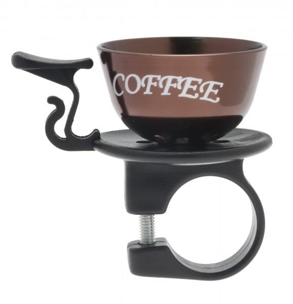 Liix Fahrradklingel Coffee To Ride Bronze