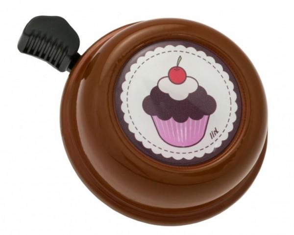 Liix Fahrradklingel Cupcake Choco