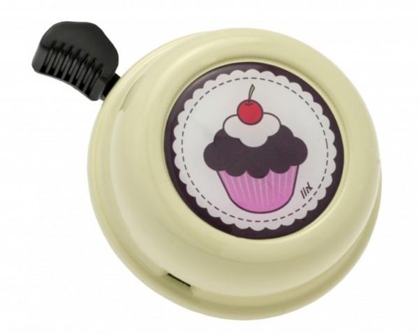 Liix Fahrradklingel Cupcake Cream