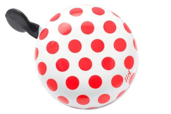 Liix Ding Dong Fahrradklingel Polka Big Dots Red