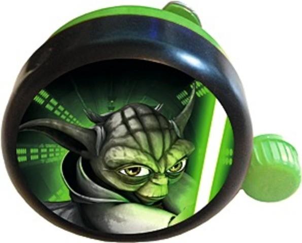 "BIKE FASHION Kinder Fahrradklingel / Glocke ""Star Wars"", grün"