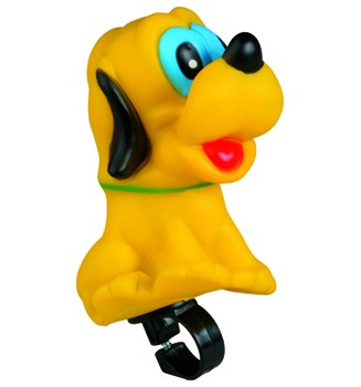 Figuren- Kinderhupe Hund, gelb