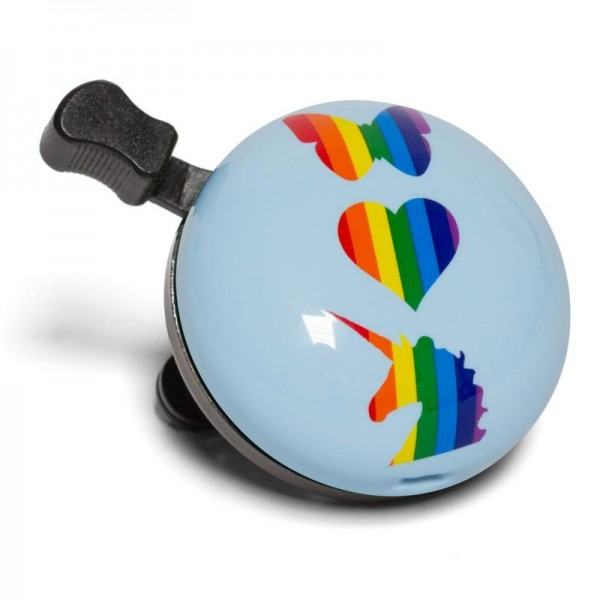 "Nutcase Bicycle Bell ""Rainbow Friends"" Fahrradklingel"