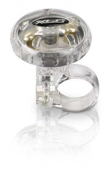 XLC Fahrradklingel / Glockee silber transparent