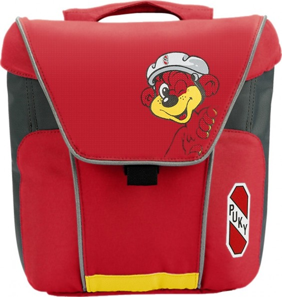 PUKY Doppeltasche DT 3, Red