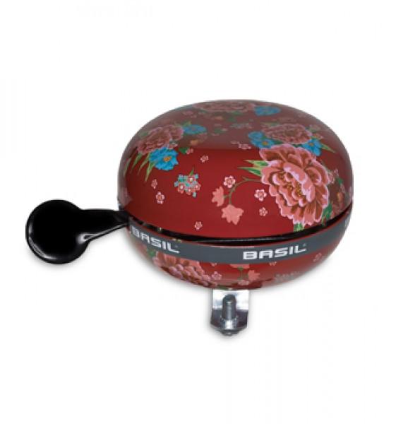 fahrradklingel glocke dingdong rot blume fahrradklingel shop. Black Bedroom Furniture Sets. Home Design Ideas
