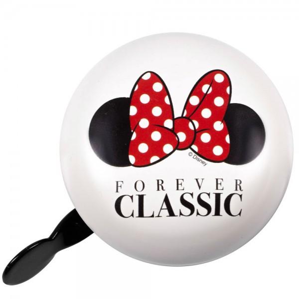 Disney 2-Klang Fahrrad Glocke Minnie Mouse Forever Classic, Ø 80mm