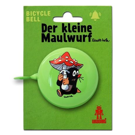Logoshirt Fahrradklingel Der Kleine Maulwurf - Krtek - Pilz