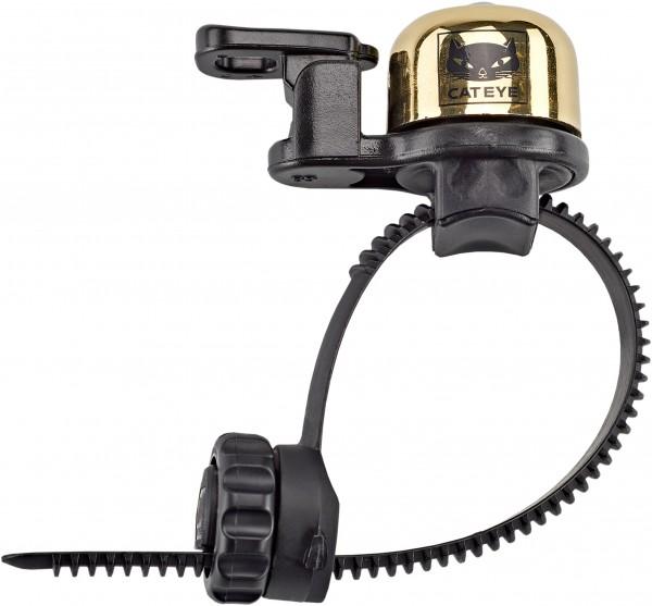 """CATEYE Mini - Fahrradklingel / Glocke """"OH-2400"""", gold"""