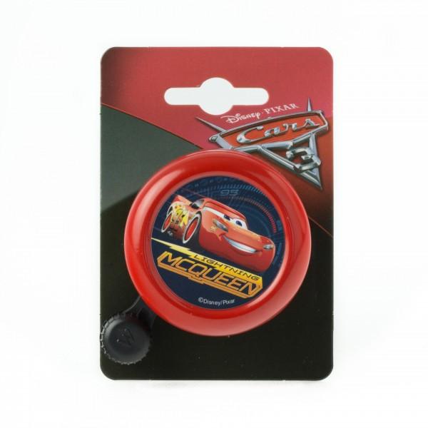 WIDEK Kinder - Fahrradklingel Disney Cars rot