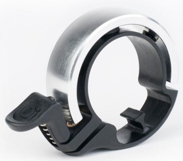 Knog OI Classic Large Fahrradklingel, 23.8 - 31.8 mm, black/silver