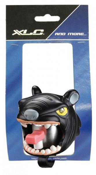 Fahrradklingel / Glocke Crazy Stuff Panther, schwarz