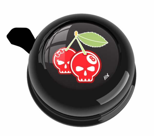 Liix Klingel Cherry Skulls Black
