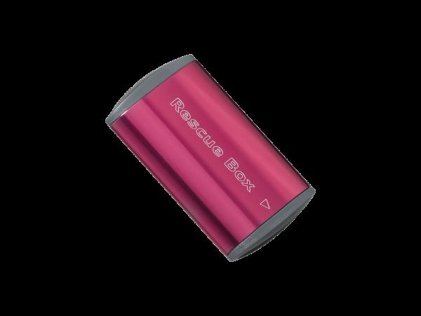 Topeak Rescue Box, Flickzeug-Box, rot