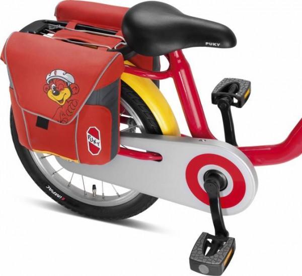 PUKY Doppeltasche DT 3, red für Gepäckträger