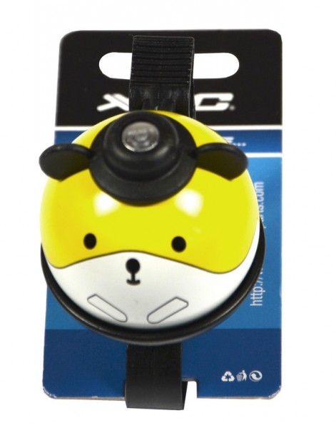Kinderklingel / Glocke Maus, gelb