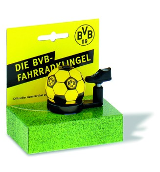 "Bundesliga-Fahrradklingel ""BVB Dortmund"", schwarz/gelb"