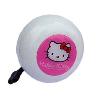 Hello Kitty Ding Dong Glocke / Fahrradklingel, weiß