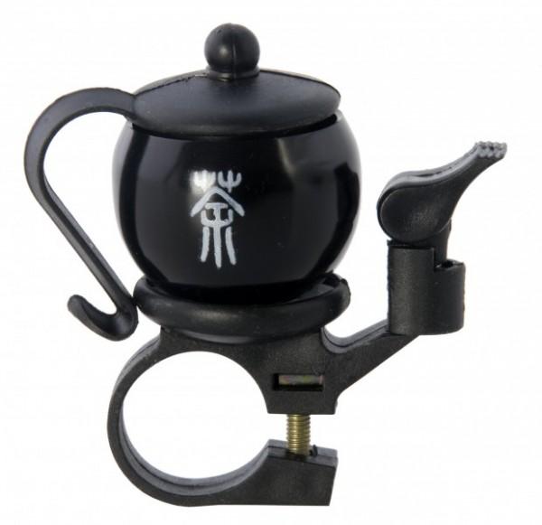 Liix Fahrradklingel Tea Time schwarz II