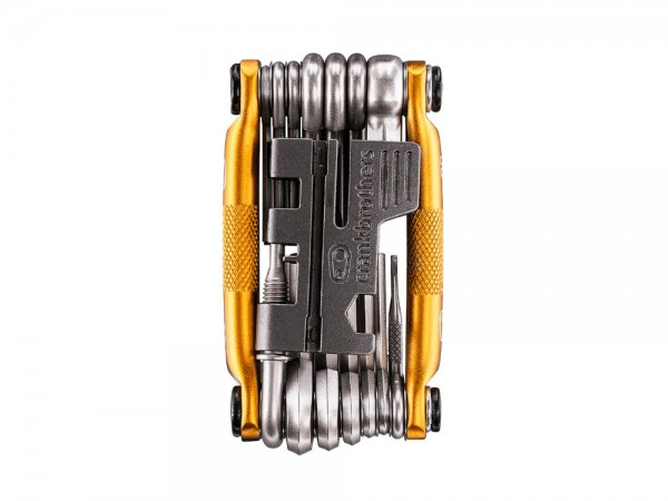 crankbrothers Fahrrad Multitool M20, gold - Fahrrad Reparatur Werkzeug