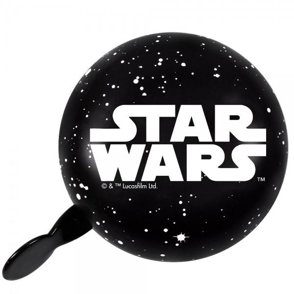 Disney 2-Klang Fahrrad Glocke Star Wars Logo, Ø 80mm