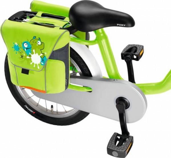 PUKY Doppeltasche DT 3, Kiwi green für Gepäckträger