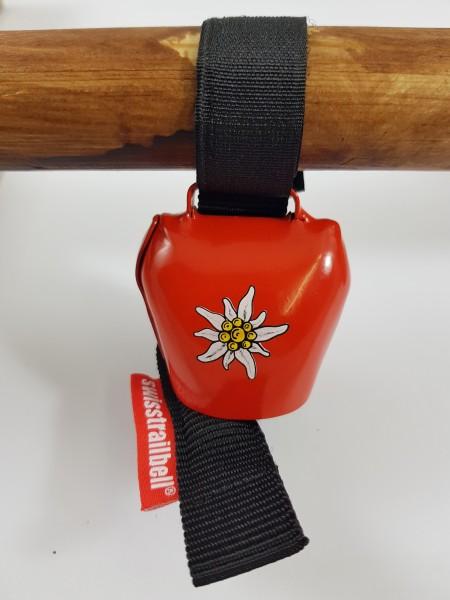 Swisstrailbell Edition rot mit Edelweiß