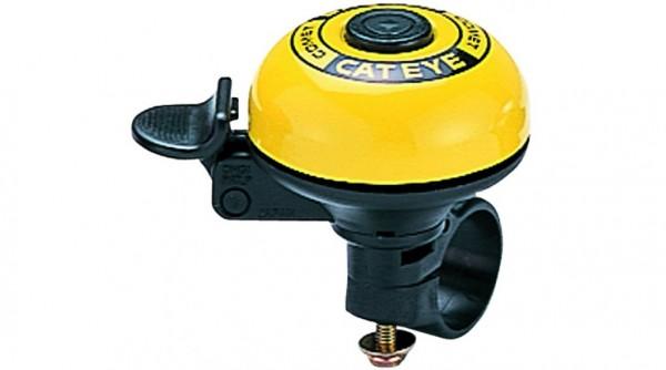 CATEYE Fahrradklingel / Glocke PB-200 Comet Bell, gelb
