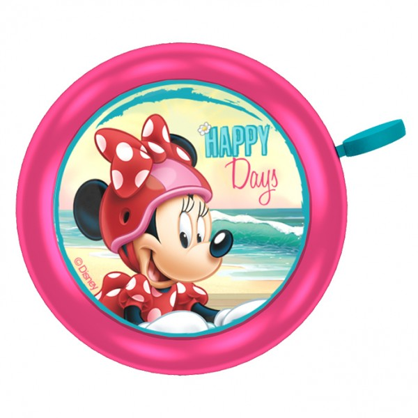 "Disney Fahrradklingel Minnie Mouse ""Happy Days"""