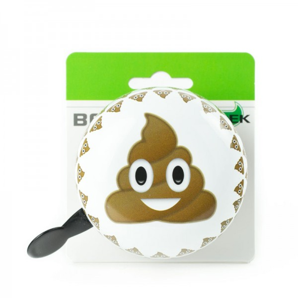 WIDEK Ding - Dong Fahrradklingel Emoticon Poo