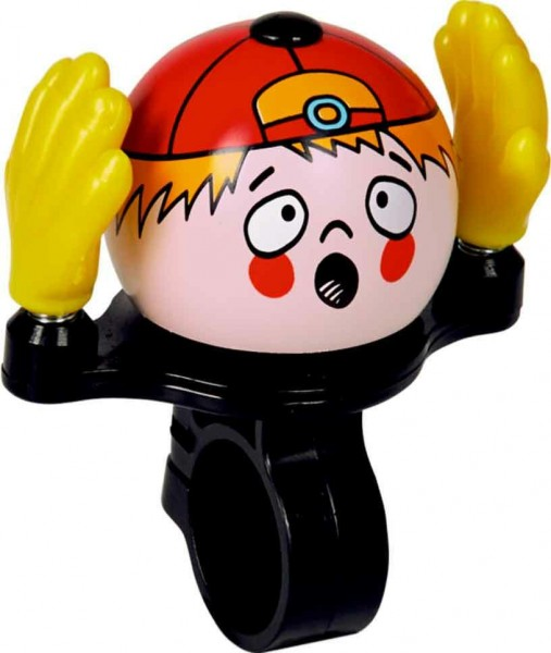 "Spiegelburg Fahrradklingel ""Oooh Yellow Hand Boy"", Fahrrad Glocke"
