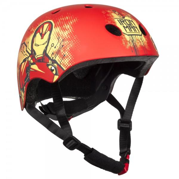 """Disney/Marvel Fahrrad-Kinderhelm """"Iron Man"""", Fahrrad, Roller Blades, Skater, 54-58cm"""
