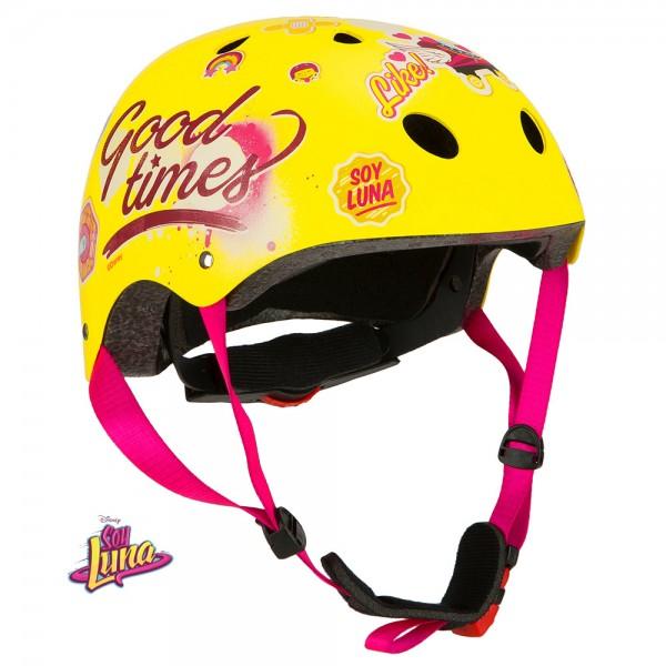 """Disney Sport Kinderhelm """"Soy Luna"""", Fahrrad, Roller Blades, Skater, 54-58cm"""