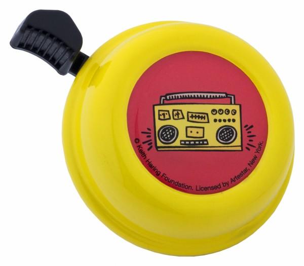 Liix Klingel Keith Haring Radio gelb