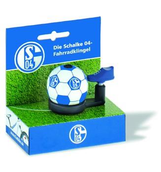 "Bundesliga-Fahrradklingel ""Schalke04"", blau/weiß"
