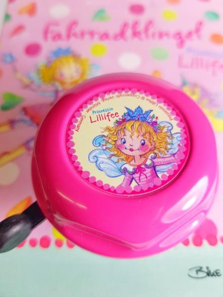 "Bike Fashion Fahrradklingel / Glocke ""Prinzessin Lillifee"", rosa"